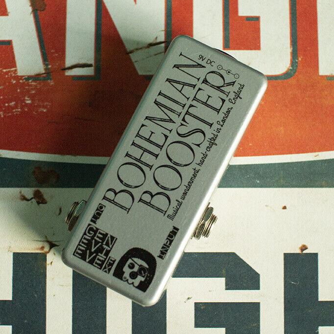 Genevieve FX Bohemian Booster - Brian May Treble Booster Mini Pedal
