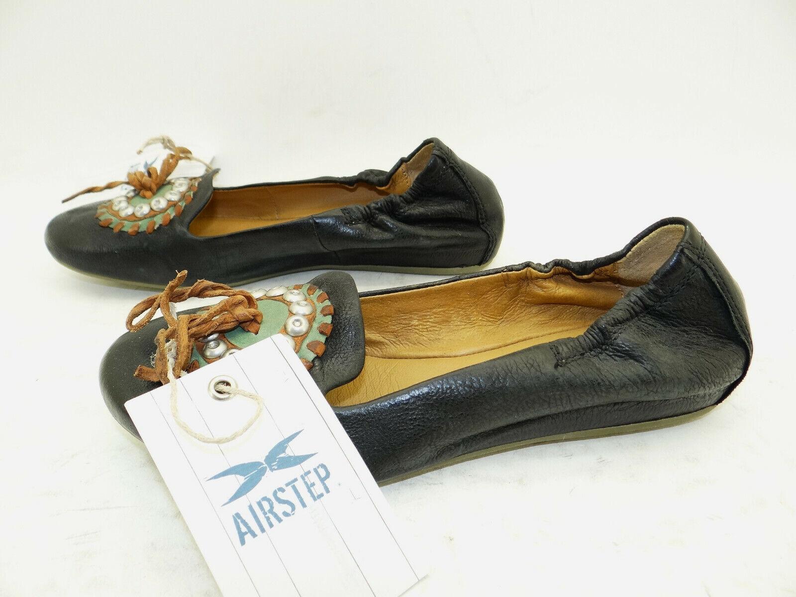 Airstep A.S.98 Schuhe Ballerinas Mokassins Slipper Damenschuhe Leder Gr.37 NEU