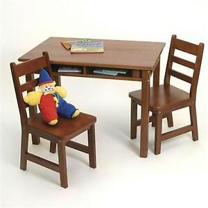 Terrific Kids Childrens Lipper International 534C Child Rectangular Table 2 Chair Set Short Links Chair Design For Home Short Linksinfo