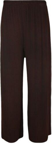Women Ladies Palazzo Plain Wide Leg Pants Flared leggings Baggy Trousers*Palazzo
