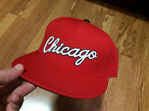 Image is loading CHICAGO-BULLS-Mitchell-amp-Ness-NBA-Snapback-Hat- af68a7edf0620