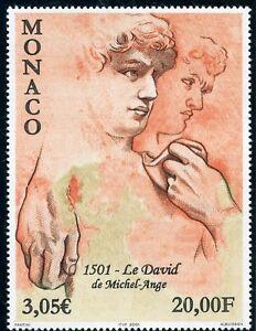 TIMBRE-DE-MONACO-N-2309-ART-TABLEAUX-DAVID-DE-MICHEL-ANGE-COTE-11