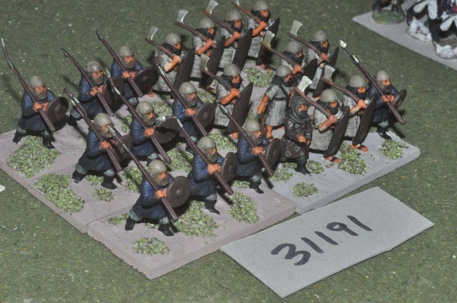 25mm classical   persian - axemen 21 figures - inf (31191)