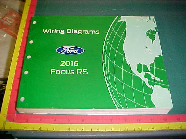 2016 Ford Focus Rs Wiring Diagrams Service Manual
