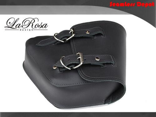 La Rosa Harley Left Saddlebag Tool Bag VRSCDX VRSCAW VRSCA VRSCB Black Leather