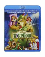 Robin Hood: 40th Anniversary Edition (blu-ray + Dvd + Digital C... Free Shipping