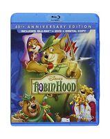 Robin Hood: 40th Anniversary Edition (blu-ray + Dvd + Digital C... Free Shipping