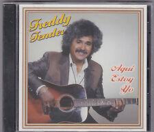 """+Tejas/Tejano CD-Freddy Fender-""""Aqui Estoy Yo"""" -Tejano TexMex Latin CD SEALED"""