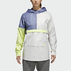 $75 adidas Shell Anorak Windbreaker Jacket Size Large