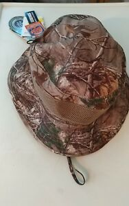 d74a2c718bf MENS REEL LEGENDS CAMO SAFARI NO FLY ZONE BUCKET HAT LARGE NWT ...