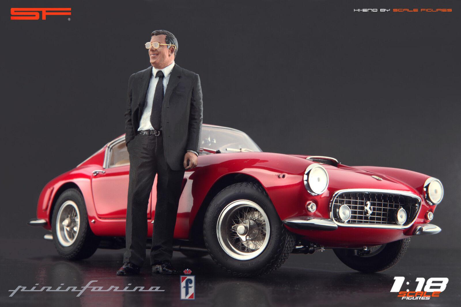 1 18 Sergio Pininfarina Très Rare     Figurine sans voitures    pour Diecast Collectionneurs  sortie d'usine