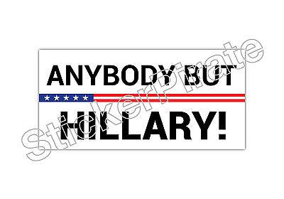 Hillary Clinton Prison 2016 Bumper Sticker TRS 133