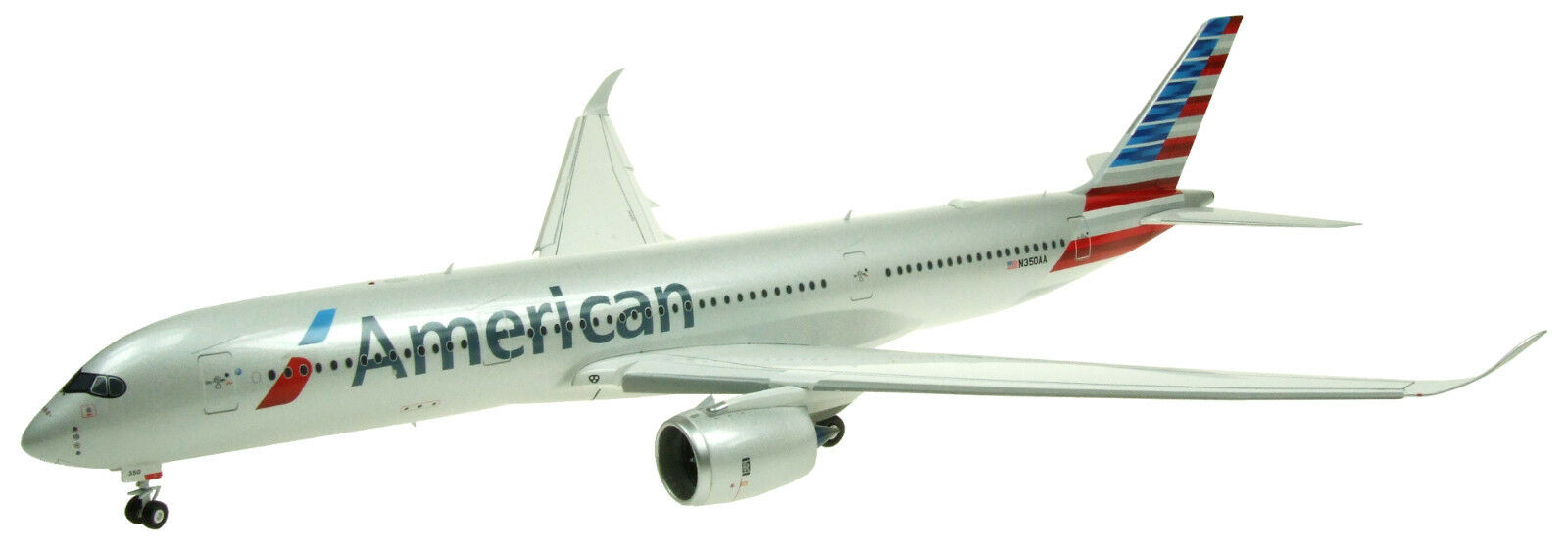 Inflight 200 IF3501014D 1 200 American Airlines A350-900 Soporte flaps abajo Inc