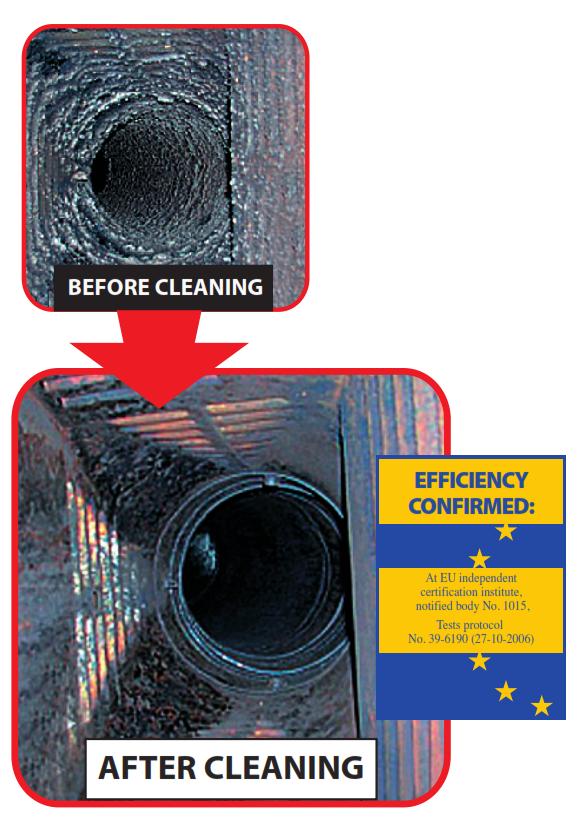 HANSA chimney cleaner log, soot / creosote remover CONCENTRATED, CONCENTRATED, CONCENTRATED, 1.1 kg  2.4lb.  9c9187