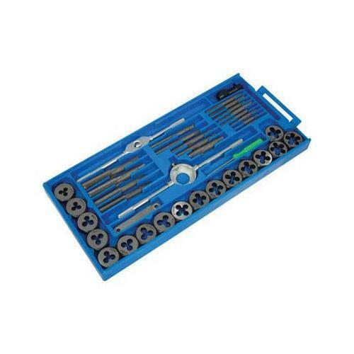 Silverline Tap /& Die Set 40pce 40pce Mechanical Engineering Tool