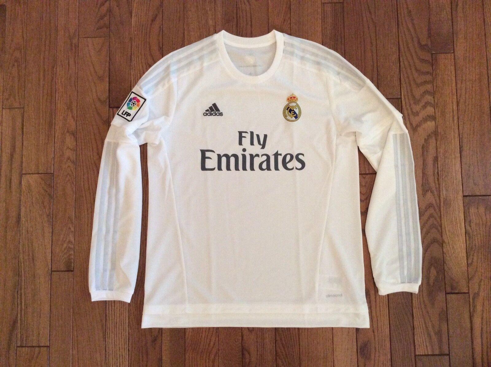 the best attitude 03317 4e25b Adidas Cristiano Ronaldo Real Madrid Long Sleeve Sleeve ...