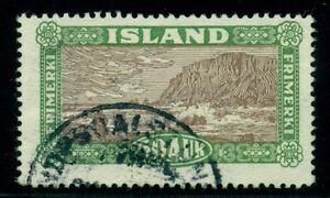 ICELAND BRIDGE CANCEL NUPSDALSTUNGA (B2a) on 50aur Landscape