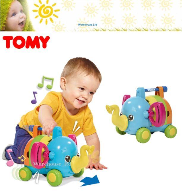 Tomy 72377 Jumbo's Jamboree Musical Jigsaw Puzzle On Wheels Childrens Toy - New