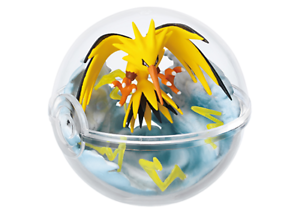 Re-ment-Pokemon-Terrarium-Pokeball-Collection-3-Figure-Zapdos-Ship-in-Box