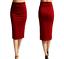 Ladies-Plain-Office-Womens-Stretch-Bodycon-Elegant-Midi-Pencil-Skirt-Dress-S-XXL thumbnail 4