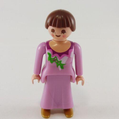 24826 Playmobil Femme Robe Rose Nacrée avec Chaussures Dorées