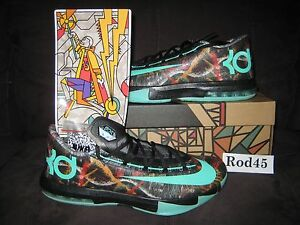 low priced 6a2c0 8f4f4 Image is loading NIKE-KD-VI-6-Illusion-All-Star-NOLA-