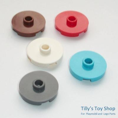 Lego 8  2x2 Round Thin Tile Open Centre Stud Pick a Colour NEW ID 18674