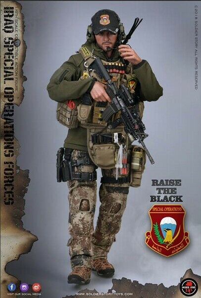 1//6 Scale-Soldier Story Action Figures Spec Ops ISOF-TACTICAL RADIO