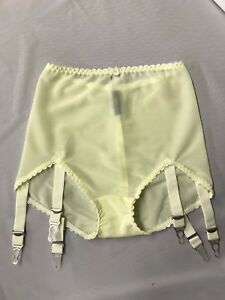 049-Revival-Lingerie-powernet-support-girdle-Cream-6-straps-S-5xL-CLEARANCE