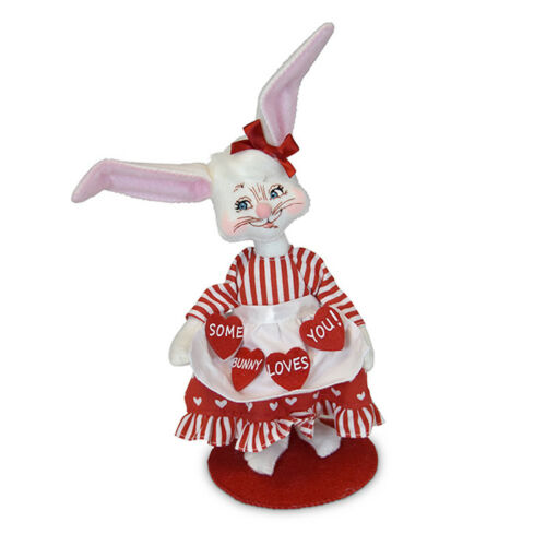 Annalee Dolls 2019 Valentine 6in Some Bunny Loves You Plush New with Tags