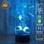 3D Acrylic LED Sonic Sega Hedgehog 7 Colour Night Light Touch Table Lamp Gift