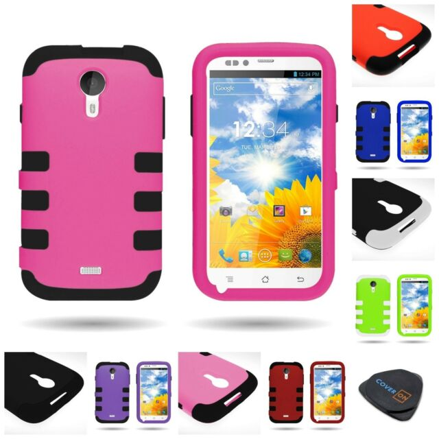 outlet store 19628 7404c For BLU Studio 5.0 Phone Cover Case - Multicolor Silicone + Hard Plastic  Hybrid