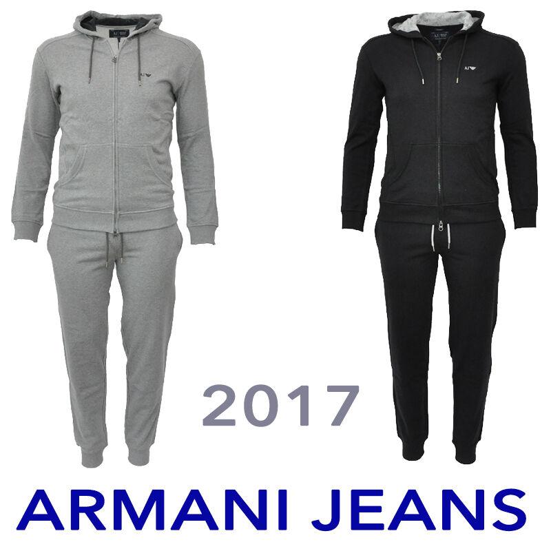 ARMANI JEANS SPORTANZUG Jacke+Hose Trainingsanzug Gr.S-3XL HERREN Freizeitanzug