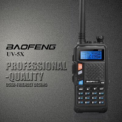 2015 Exclusive HOT BAOFENG UV-5X 136-174/400-520MHz Two-Way Radio Walkie Talkie