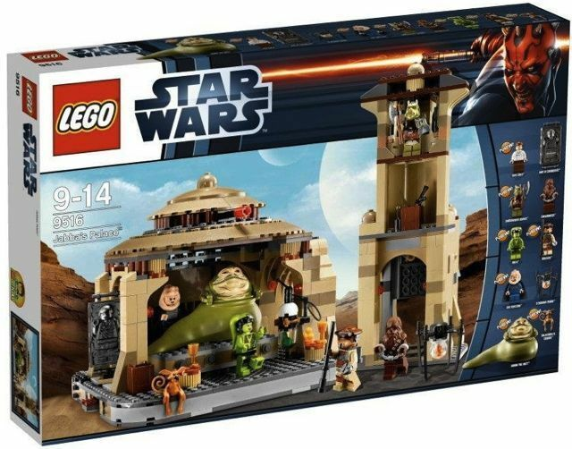 9516 JABBA'S PALACE star wars lego set IN HAND recalled rotj return of the jedi