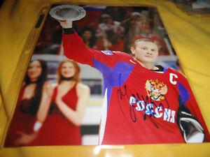 Russia-Ottawa-Senators-Sergei-Gonchar-Autographed-8x10-Photo-COA