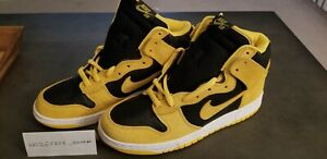 sports shoes 8ac96 da67e Image is loading Nike-SB-Dunk-High-Goldenrod-Iowa-Size-11-