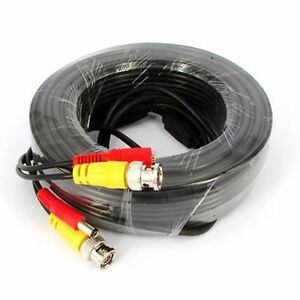 30m-CCTV-Cable-Security-Camera-BNC-Video-DC-Surveillance-DVR-Data-Extension-Lead
