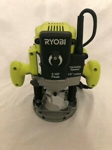 Ryobi 2 HP 10-Amp Plunge Base Router Wood Tool Electric ...