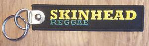 """Keyring/ Key Pendant Schlüsselanhänger Patch """"skinhead Reggae"""" Kunden Zuerst Schlüsselanhänger Uhren & Schmuck"""