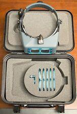 Donegan DA-S1 OptiVisor® Binocular Magnifier Set 6 Lenses, OptiLoupe, VisorLight