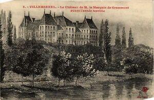 CPA-Villersexel-Le-Chateau-de-M-le-Marquis-de-Grammont-636384