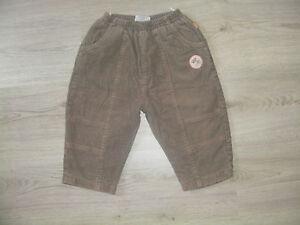 Topolino-Hose-Jeans-Shorts-Capri-beige-braun-86-92