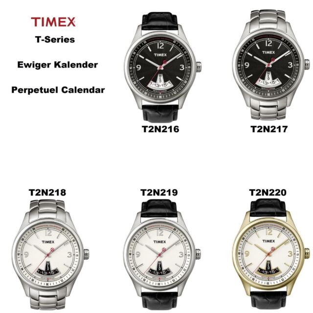 Timex Replacement Band T2N220 T Series Perpetual Calendar Quality Leather