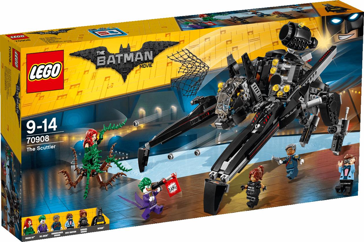 LEGO THE BATMAN MOVIE CRIATURA 70908 - NUEVO, PRECINTADO SIN ABRIR