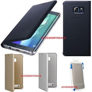 online store 6d306 52282 Details about Genuine Samsung FLIP CASE GALAXY S6 EDGE + PLUS smartphone  book cover original