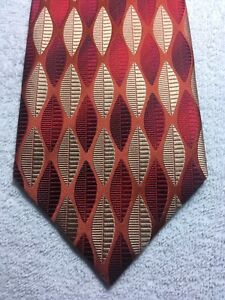 DONA-MENS-TIE-RED-ORANGE-AND-GOLD-4-X-60-NWOT