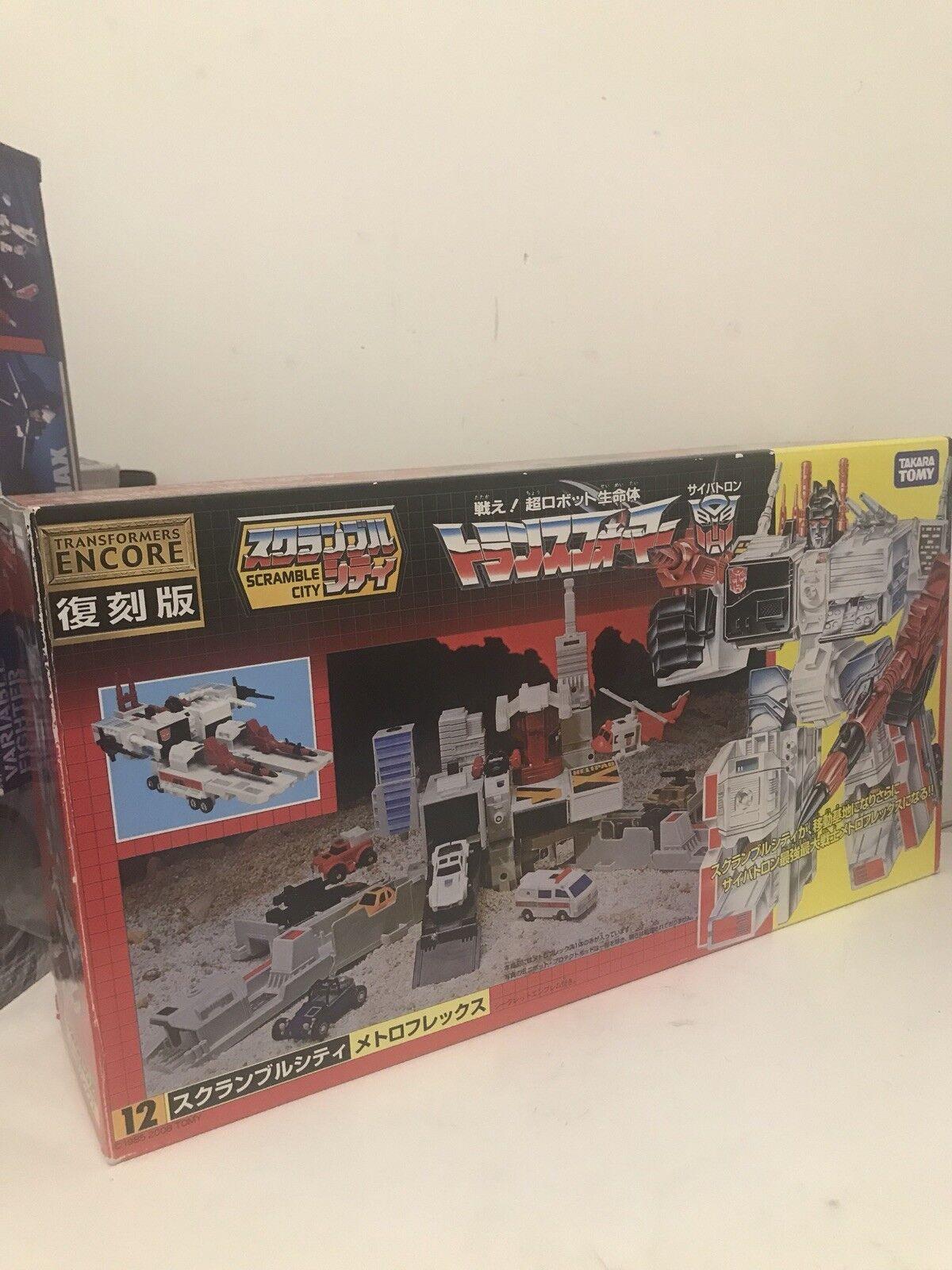 Transformers Takara Tomy Encore 12 G1 Metroplex Nuevo Y En Caja