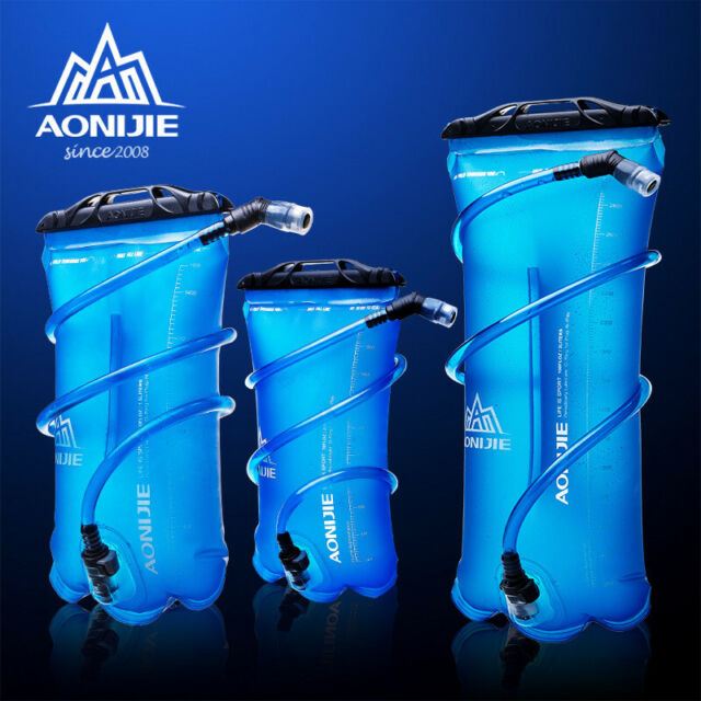 Hiking Water Bags Sports Drinking 2L Hydration Bladder Camping Reservoir 1 Pc