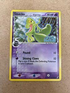 1x Treecko 68//100 Reverse Holo EX Crystal Guardians Pokemon Card